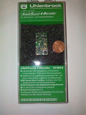 Uhlenbrock 36560 H0 Sound4 Decoder PluX22 MOT DCC + Wunschsound (36360) Neu OVP online kaufen