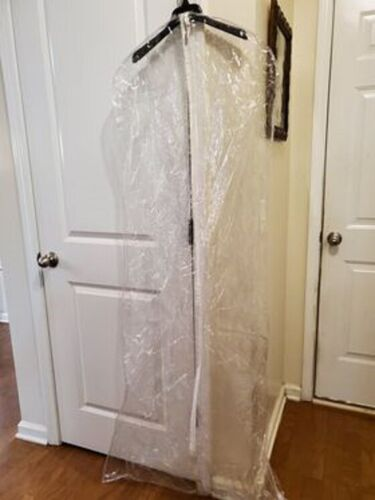12 Clear Formal/ Wedding Gown Garment Storage Bag