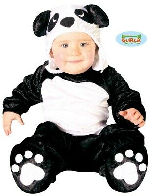Baby & Kleinkind Panda Kostüm Kinder Tier Anzug Neu Fg ()