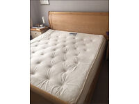 Super King Top Quality Resplendent MAG 7 Pocket Mattress with memory foam topper.