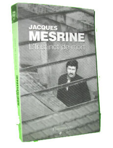 Book Instinct de Mort by Jacques Mesrine - 2008
