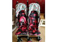 Cosatto Double Buggy. Excellent condition