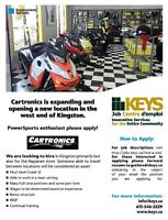 Cartronics recruiting for 5 positions