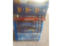 Disney Pixar Blu Ray Blu-Ray Individual Sale or Job Lot