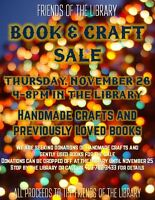 Friends of the Library - Craft and Book Sale