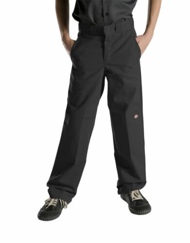 Dickies Boys Uniform Pant QP200 Flex Waist Double Knee Extra Pocket Size 8 to 20