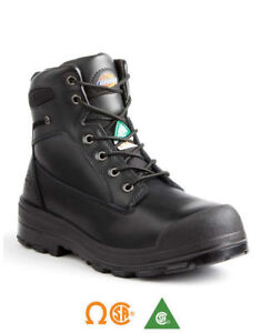 Steel toe work boots safety boots size 8