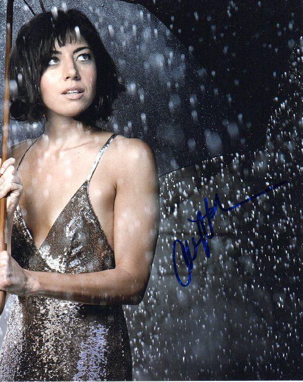Aubrey Plaza Autographed Signed 8x10 Photo COA #3 PROOF