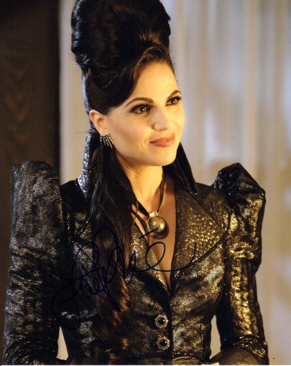 Lana Parrilla Once Upon A Time Autographed Signed 8x10 Photo COA #3