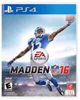 Madden 16 for ps4 (never opened)