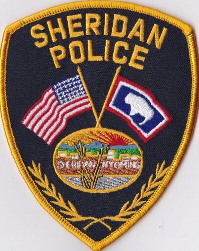 Sheridan Police Patch Wyoming WY
