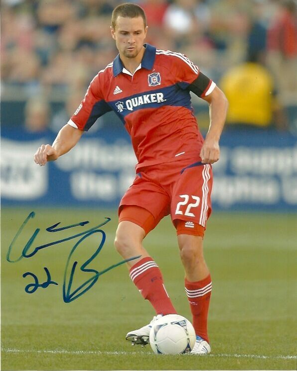 Chicago Fire Austin Berry Signed Autographed 8x10 Photo COA