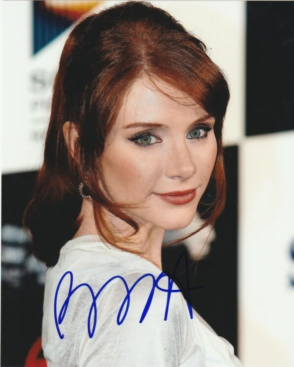Bryce Dallas Howard Jurassic World Autographed Signed 8x10 Photo COA