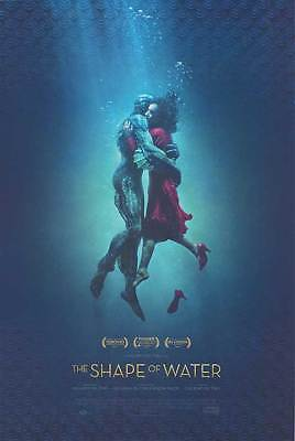 The Shape of Water - original DS movie poster - 27x40 D/S FINAL Del Toro
