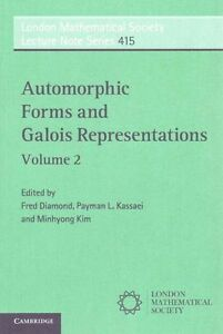 Automorphic Forms and Galois Representations: Volume 2 (London Mathematical Soci