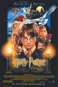 HARRY POTTER SORCERERS STONE OFFICIAL MOVIE POSTER