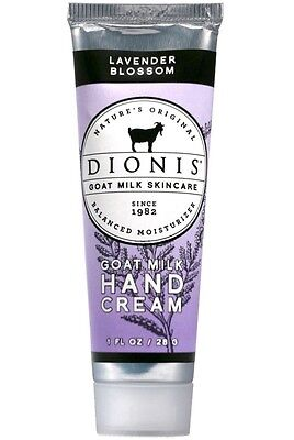 Dionis C12960-4 Lavender Blossom Goat Milk Hand Cream, 1 Oz ()