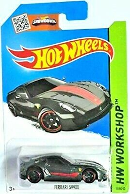 HOT WHEELS 2014 HW WORKSHOP FERRARI 599XX