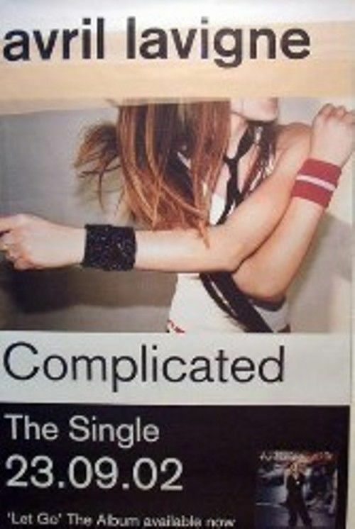 AVRIL LAVIGNE  - COMPLICATED  GIANT POSTER
