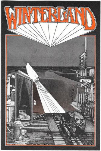 WINTERLAND BOOKLET 1970 October Upcoming Events HENDRIX Back RANDY TUTEN