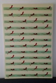 Large Ikea Swimmers Print on canvas