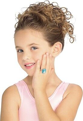 Jewel Ring Jewelry Party Dress Up Halloween Child Costume Accessory 4 COLORS