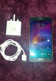 Samsung galaxy note 4 unlocked new condition 32gb