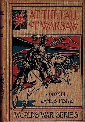 "1916 World War Series ""At The Fall of Warsaw"", Wartime Fiction Novel, History"