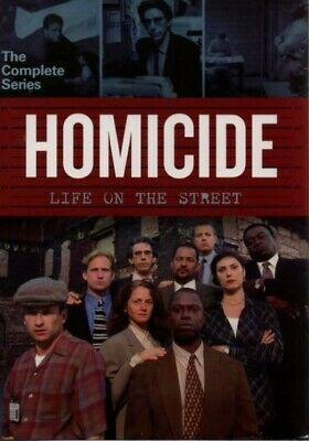Homicide Life on the Street The Complete Series 35 DVD Box Set New Free Shipping