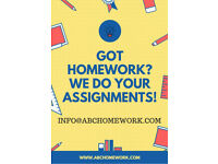 Stressed with homework? We can help