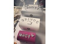 Gift/keepsake/jewellery/memory wooden box