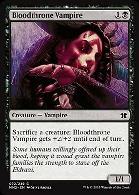 Magic The Gathering MTG Duel Deck Zendikar vs Eldrazi Bloodthrone Vampire x 4