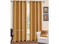 New Gold Curtains 66x90""