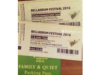 Belladrum Adult Ticket + Under 12 Ticket