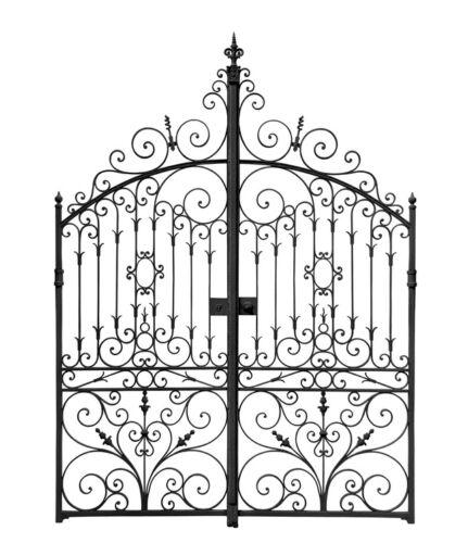 Hereinspaziert! Ein kunstvoll gestaltetes Gartentor als Eingang zu Ihrem Grundstück