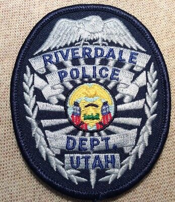 UT Riverdale Utah Police Patch