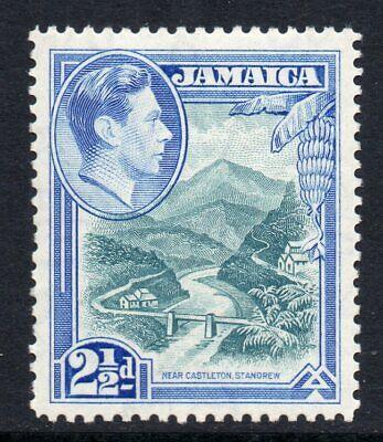 Jamaica 1938 KGVI 2½ D Wag Agua Río Sg 125 Mint