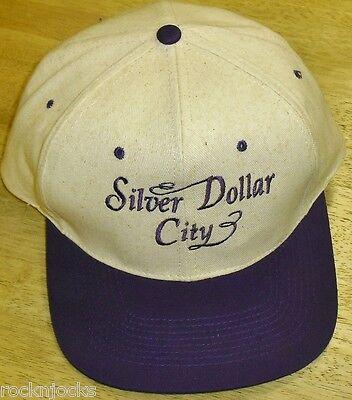 SILVER DOLLAR CITY Theme Park Vintage 90s Snapback hat Missouri RARE!