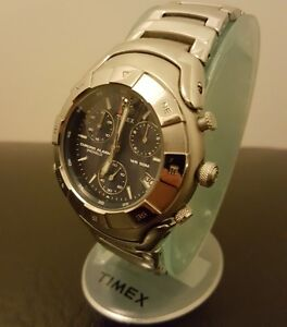 Men's Timex Explorer Indiglo Watch in box with instructions