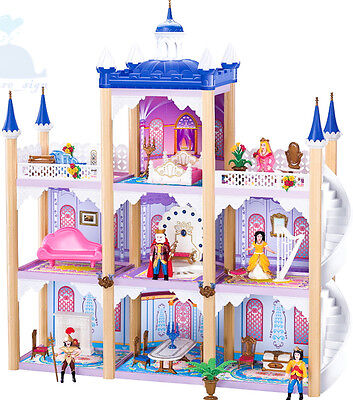 Kidcraft Easy Assembly Dolls House Princess' Dream Castle With Furniture 2017