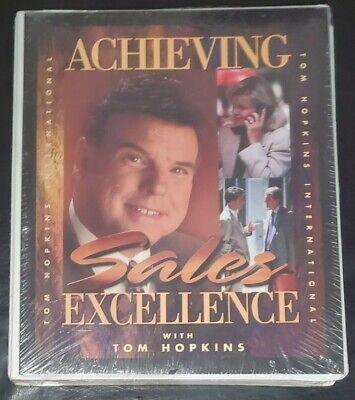 Tom Hopkins - ACHIEVING SALES EXCELLENCE - Audio Cassette Series - Be The Best