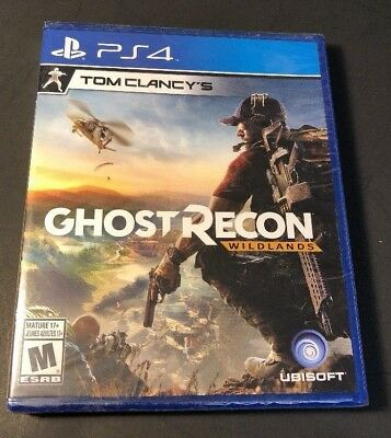 Tom Clancys Ghost Recon   Wildlands    Ps4  New