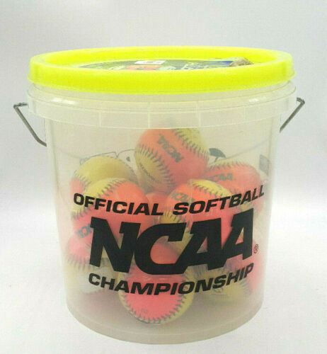 NCAA, 12 Ball Soft Training Bucket