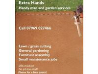 Extra Hands - handyman and garden services