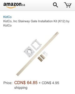 Stairway Gate Installation Kit