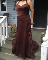 Brand new Brown gown
