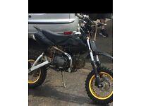 125cc Thumpstar Pitbike Pit bike Dirt bike Fast