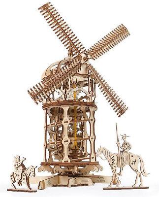 UGEARS Windmühle mechanisches Modell Bausatz #70055
