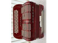 Hohner Shand Morino Button Box Accordion