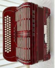 Hohner Shand Morino Button Box Accordion